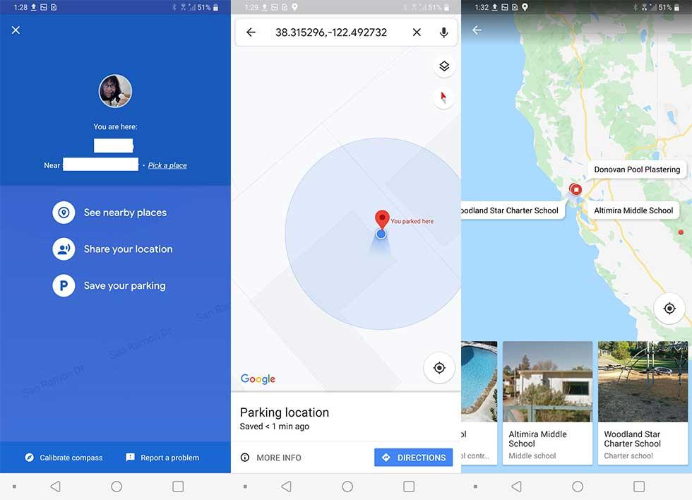 چگونه محل پارک را در گوگل مپ ذخیره کنیم