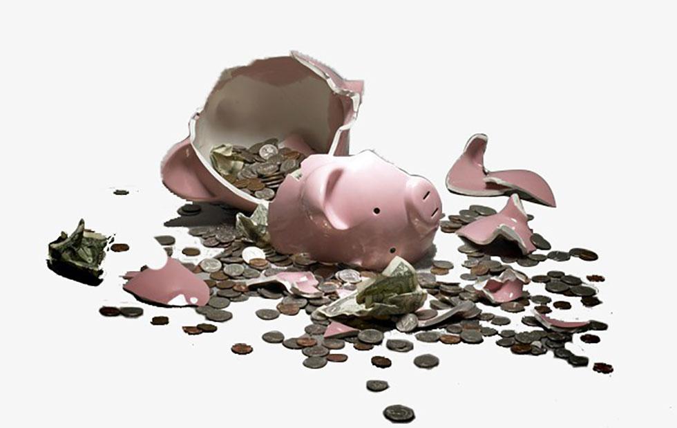 اشتباهات مالی ناشی از پس انداز بیش از حد پول