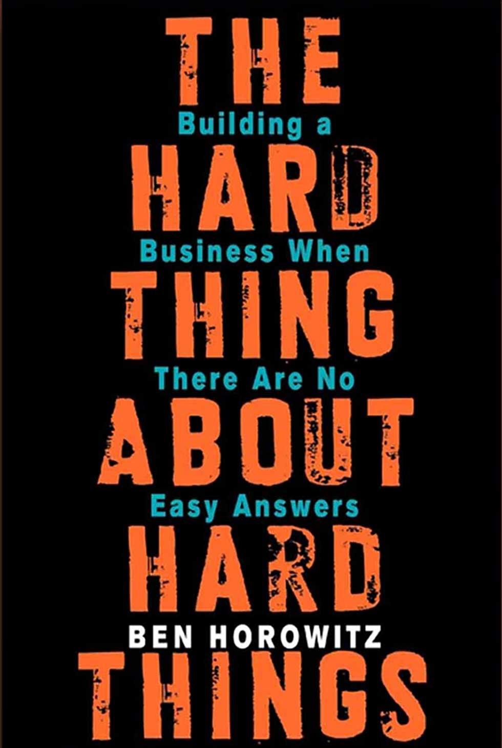 آموزش کارآفرینی و کتاب سختی کارهای سخت