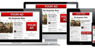 تبلیغات در سایت