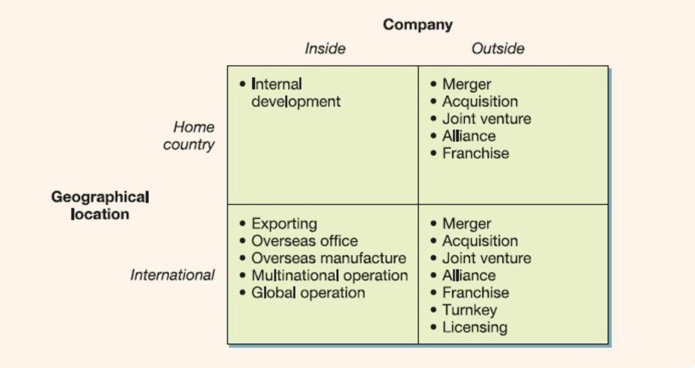 استراتژی کسب و کار و شیوه توسعه