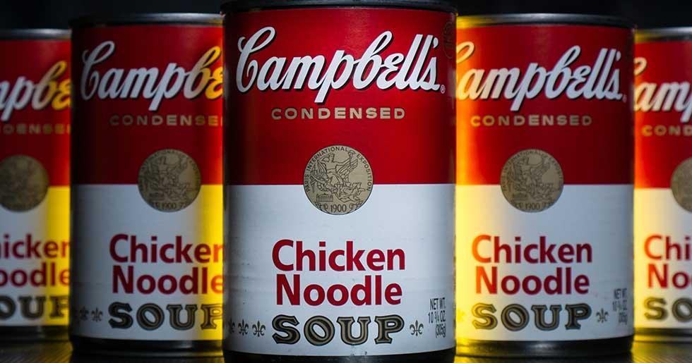 تبلیغ و سوپ کمپبل