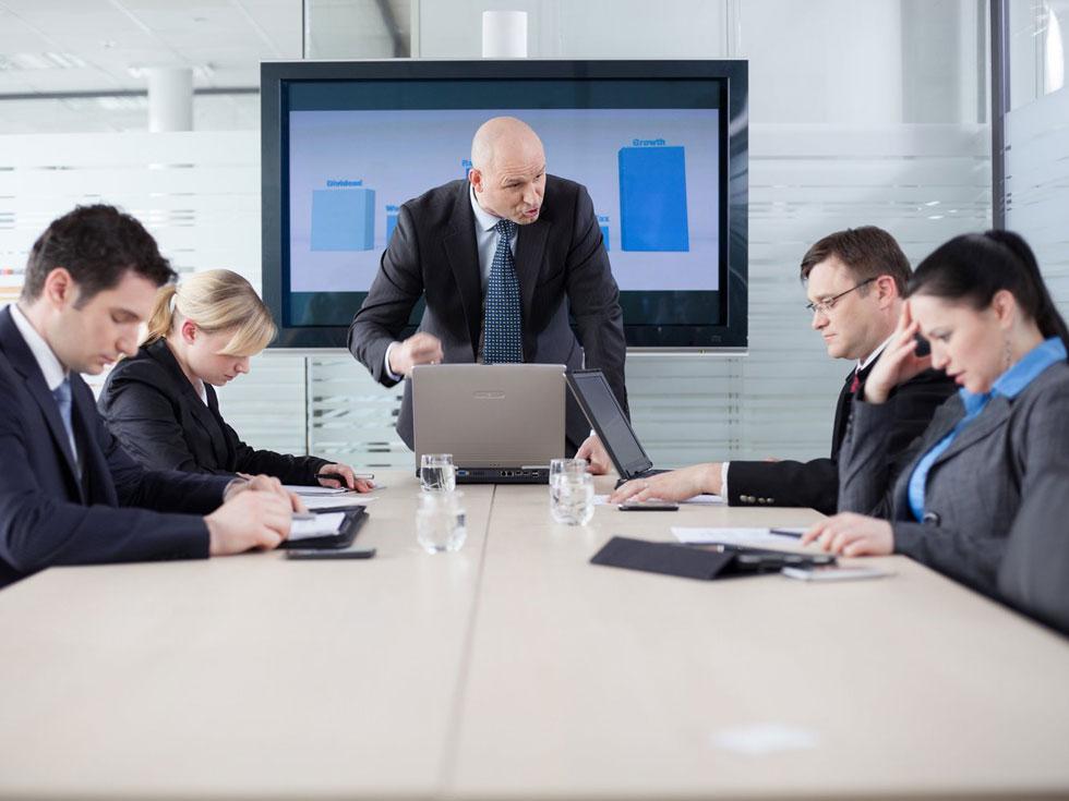 رفتار مدیریتی و انتقاد از کارمند