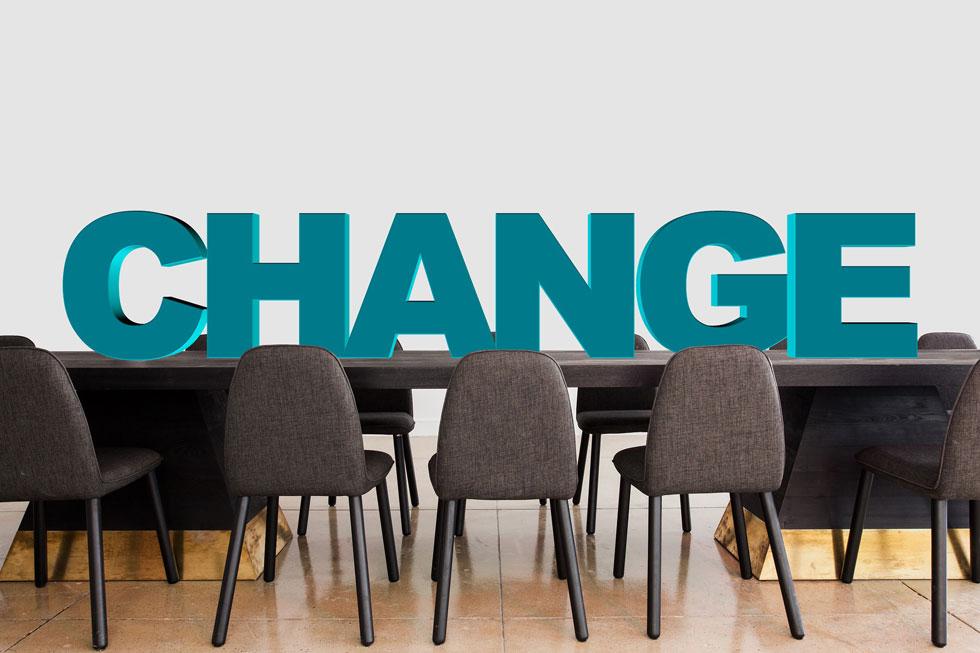 شکست کسب و کار و تغییر