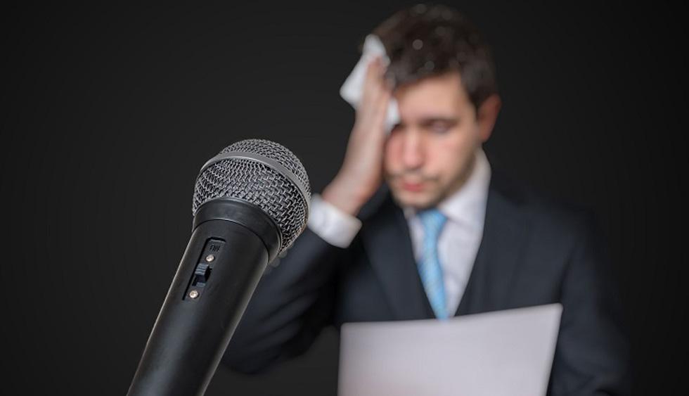 مصاحبه کاری و اضطراب سخنرانی