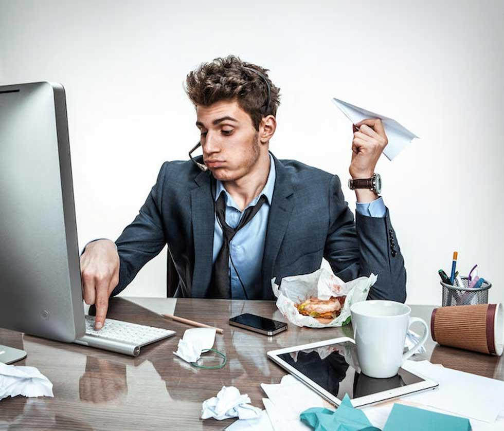 عدم تمرکز حواس و محیط کار سمی