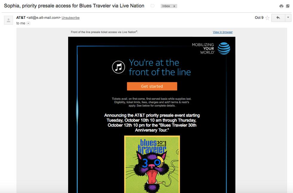 حفظ و نگهداری مشتری و اپلیکیشن AT & T Thanks