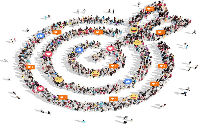 استراتژی کشش و رانش و رسانه های اجتماعی