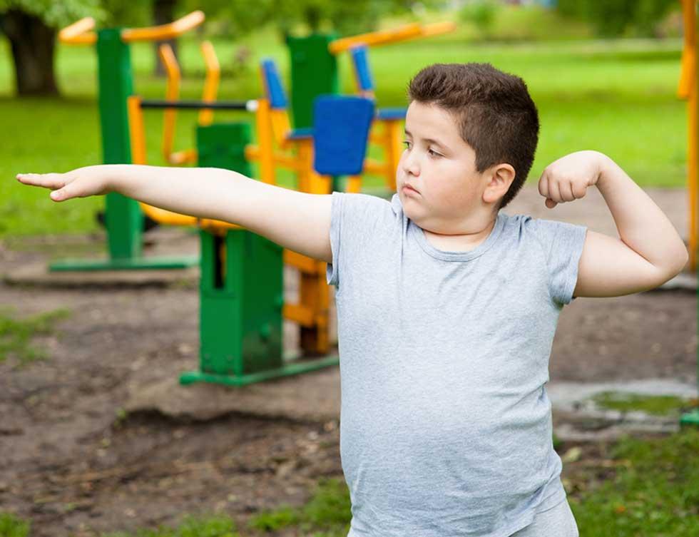 چاقی کودک و ورزش