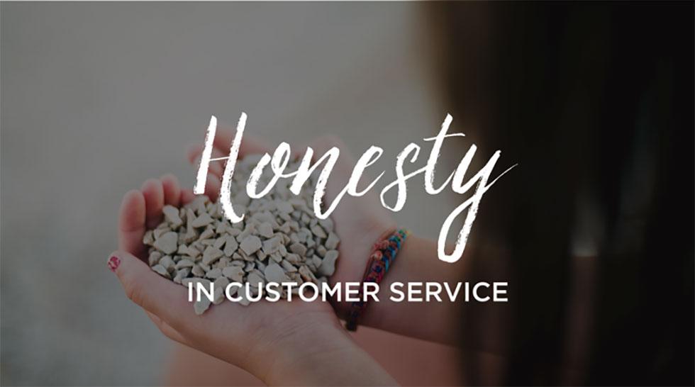 صداقت با مشتری و خدمات