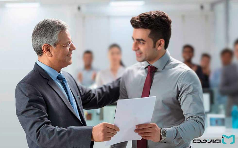 مدیریت منابع انسانی و روابط کارمند و مدیر