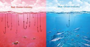 اقیانوس قرمز و آبی