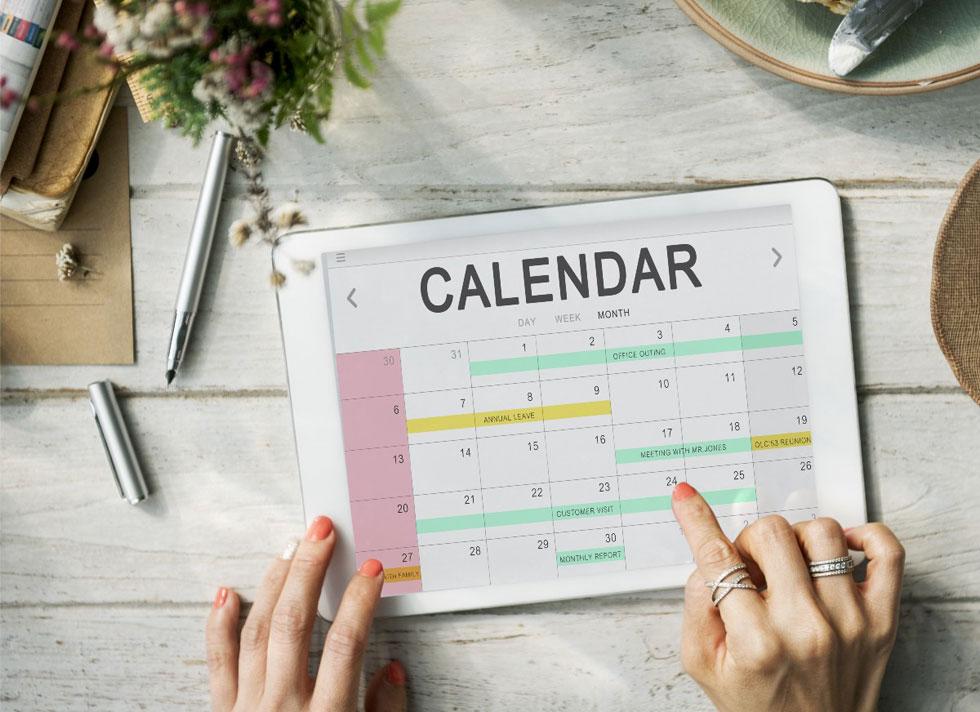 مدیریت زمان در فروش و زمان بندی