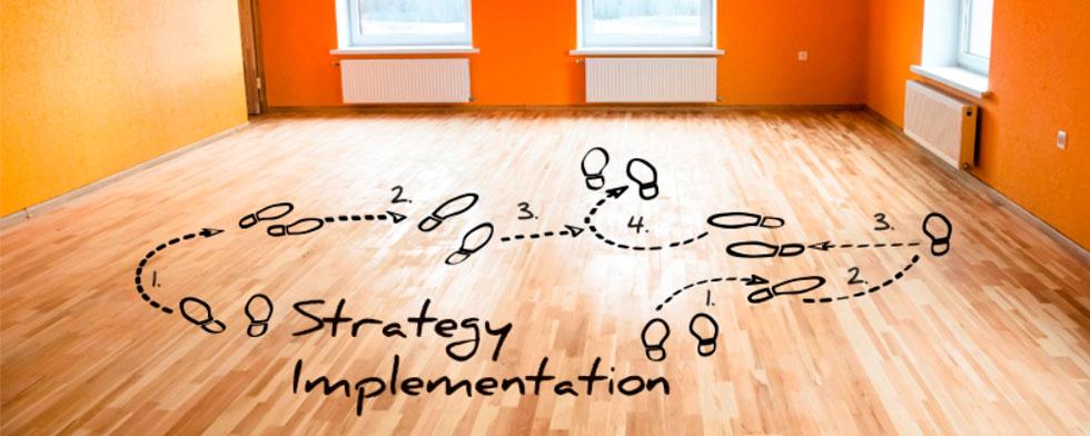 پیاده سازی استراتژی و اقدام و فعالیت