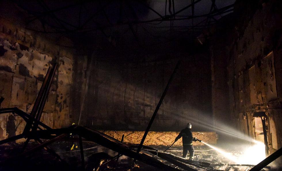 رهبری خود و آتش سوزی مترو