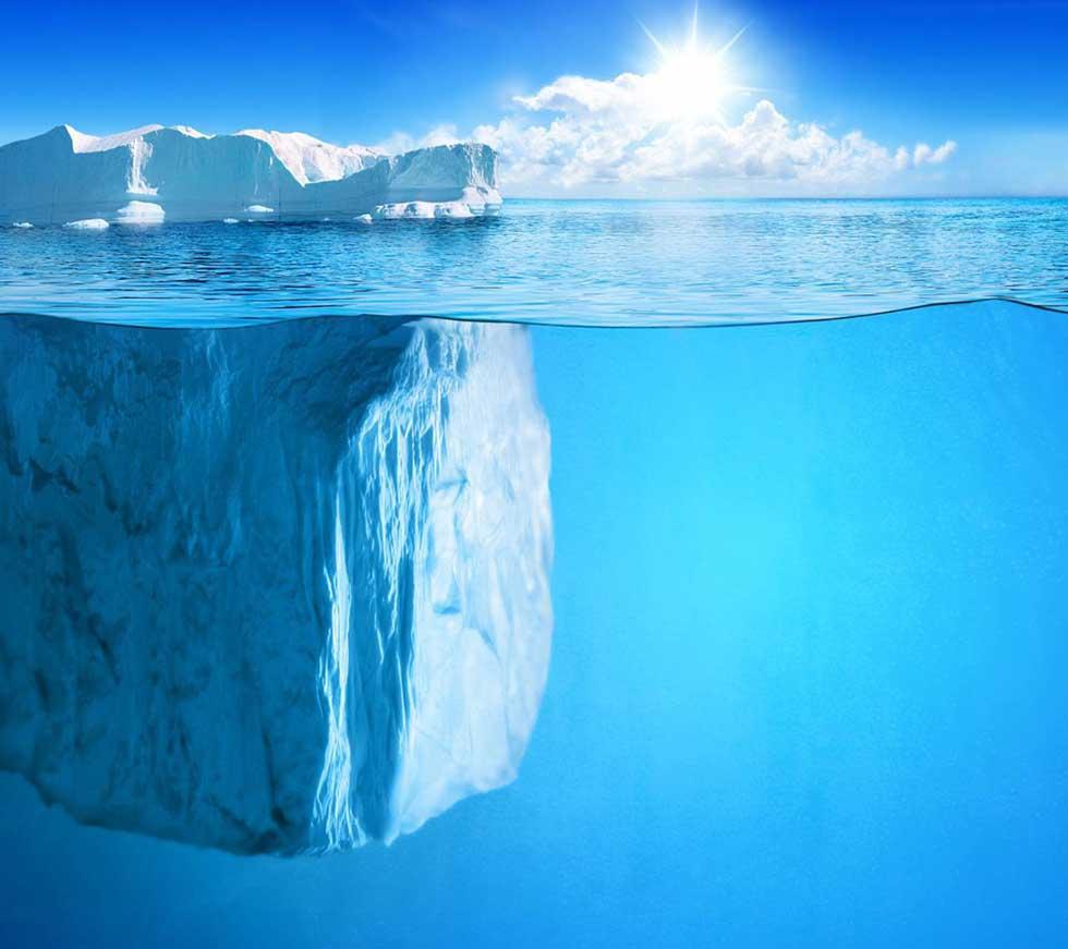 بنچ مارکینگ و کوه یخی