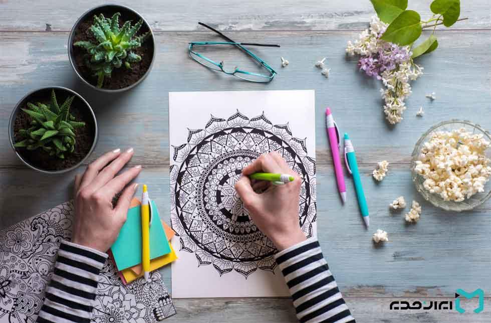 تاثیر خلاقیت در استرس چیست