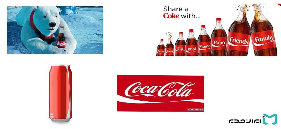 هویت بصری کوکاکولا