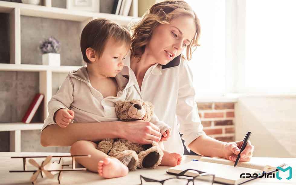 مادری با شخصیت کمال گرایی