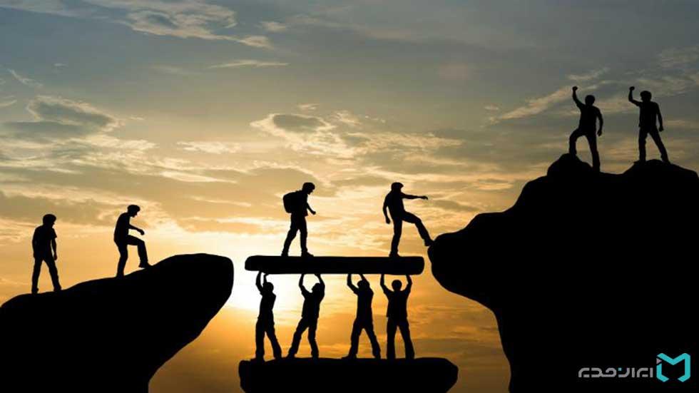 ارزیابی عملکرد و پشتیبانی از یکدیگر